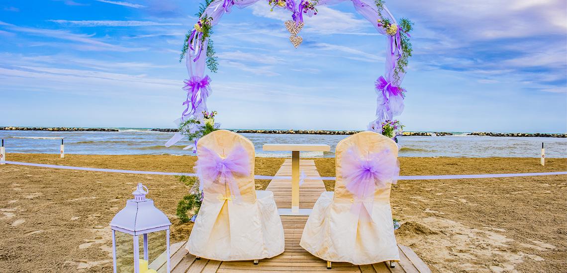 Sposarsi in riva al mare
